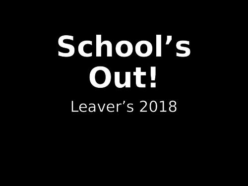 Year 6 Leavers