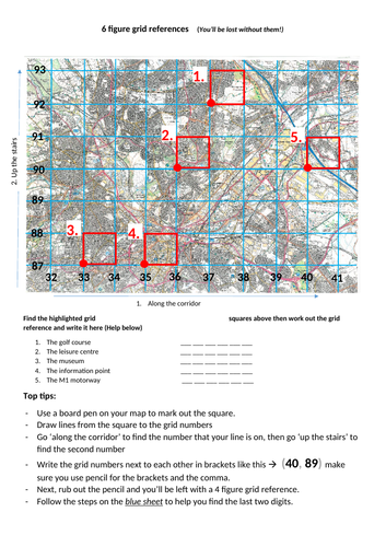 6 figure grid reference (Sheffield OS)