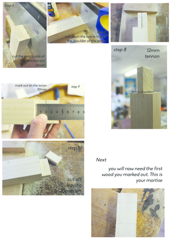 Mortise and tenon guide