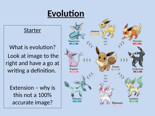 Evolution 9-1 AQA