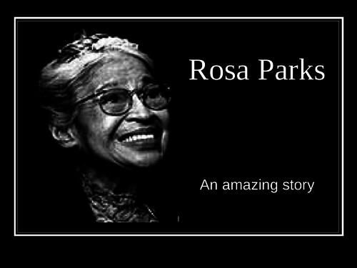 Rosa Parks assembly