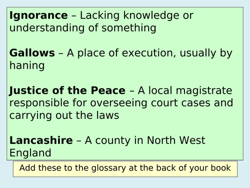 What really happened in Pendle in 1612? (Witch trials)  (KS3 History)