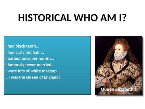 KS3: Elizabethan England