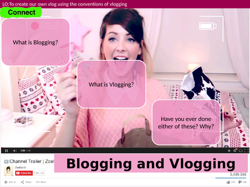 Media: Vlogging