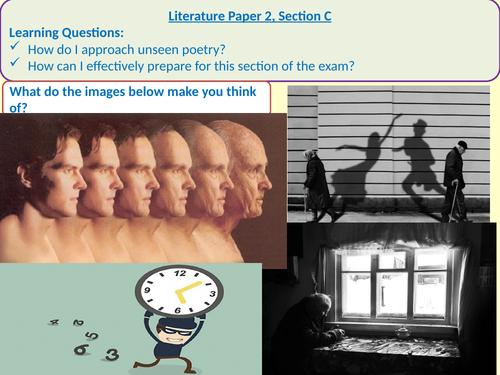 Literature Paper 2, Section C prep