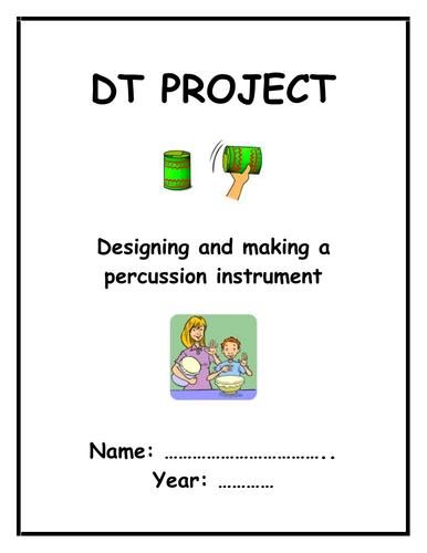 DT: Design & Make a Musical Instrument