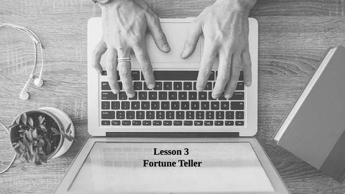 App Inventor FortuneT --- (Lesson 3)