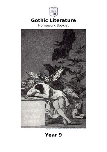 KS3 - Gothic Homework Booklet
