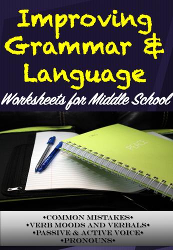 Improving Grammar & Language Worksheets *SPAG*