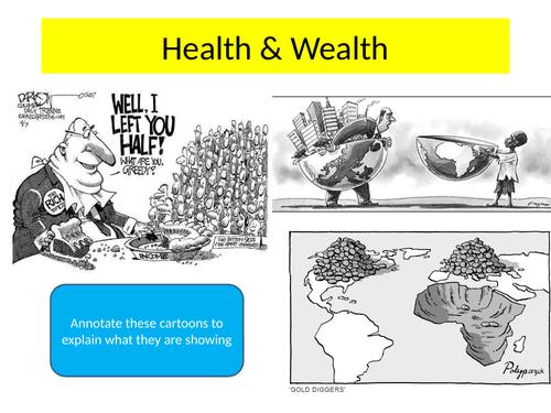 Health and Wealth- Malaria KS4
