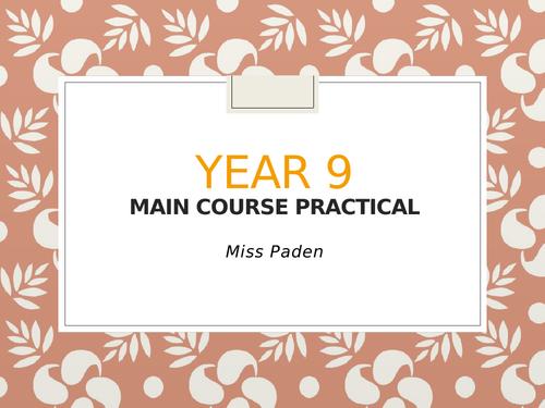 Main course practical