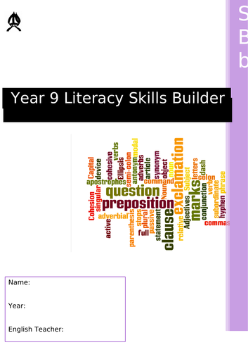 Literacy activities for tutor time year 9 - acdemic tutoring at tutor time