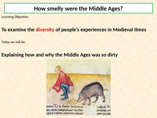 KS3 Medieval Life - Lesson 6 - Medieval health and hygiene