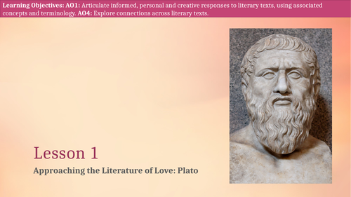 An Introduction to Plato and Platonic Love