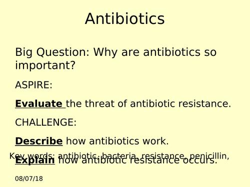 Antibiotics GCSE