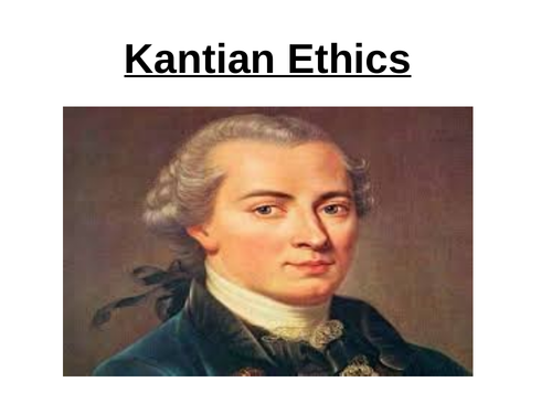 Kant's first formulation of the categorical imperative