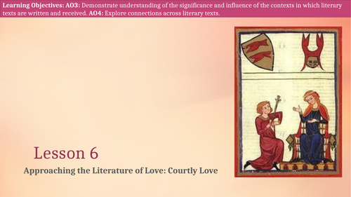 Introduction to Courtly Love and Chivalry