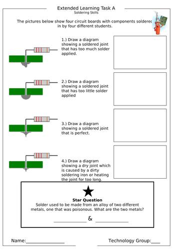 Electronics Homework (6 sheets)