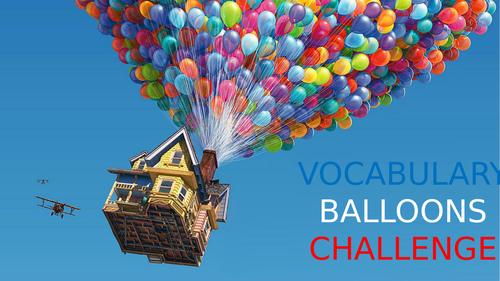 Vocabulary Balloons