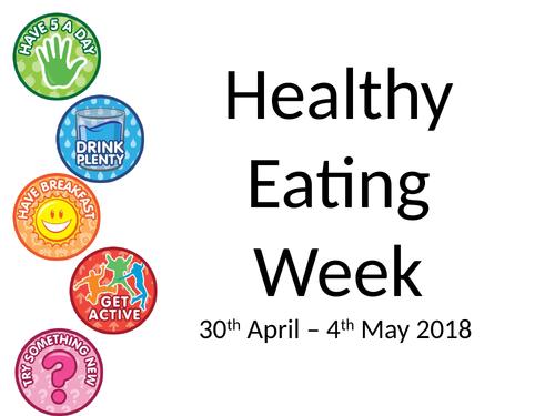 Healthy Eating Week Activities