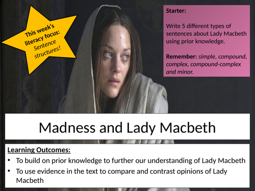 GSCE Madness and Lady Macbeth