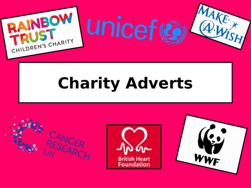 Charity Adverts