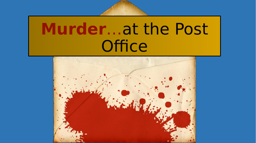 Maths Murder Mystery