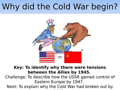 Why Did The Cold War Begin Teaching Resources