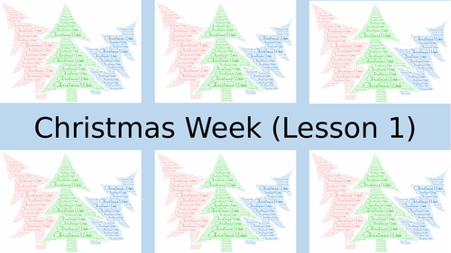 Christmas Activities (Paper 1 Revision)