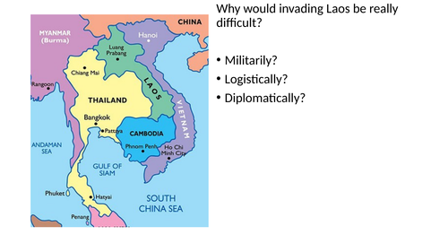 Why did Kennedy not intervene in Laos?