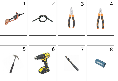 Electrical tool identification activity