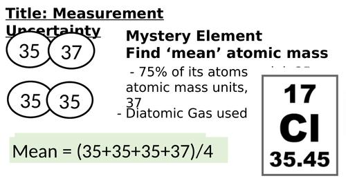 Measurement Uncertainty  (maths, mean, averages)