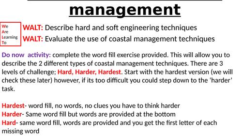 Introduction to coastal managment