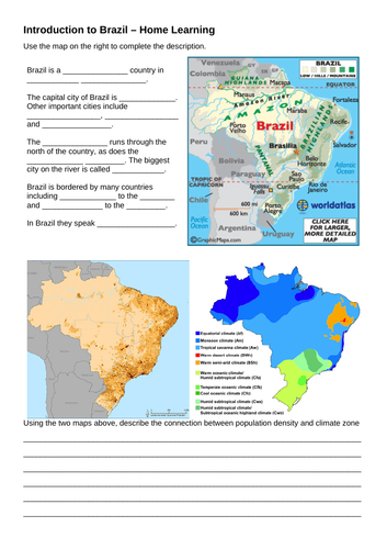 Brazil lessons inc deforestation, rivers and world cities