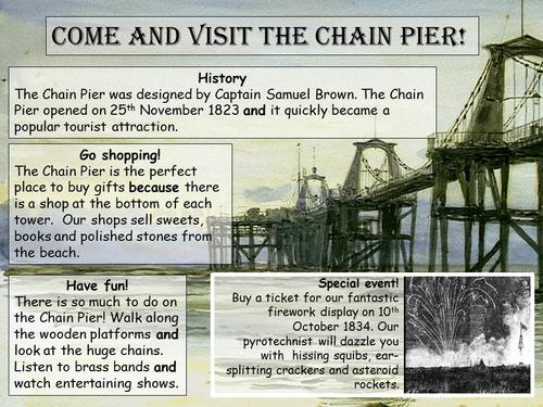 Year 2 information writing, 3 week unit, Brighton Pier