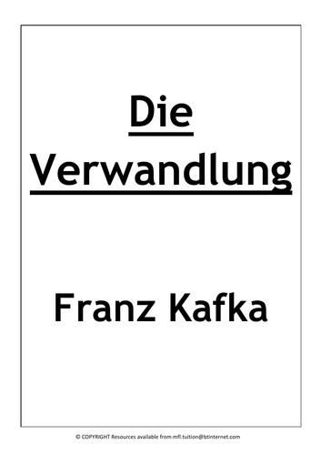 Die Verwandlung - Booklet TO COMPLETE