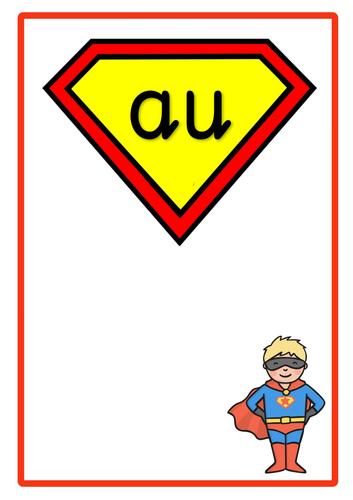 Phase 5 Phonic Superheroes