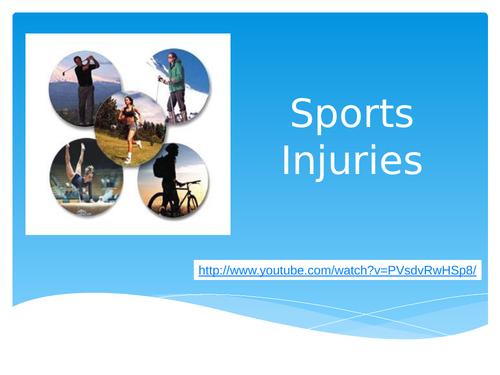 L3 BTEC Sport Unit 17: Sports Injuries