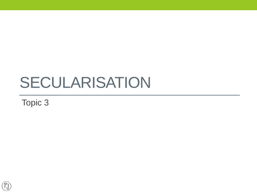 Introduction to Secularisation