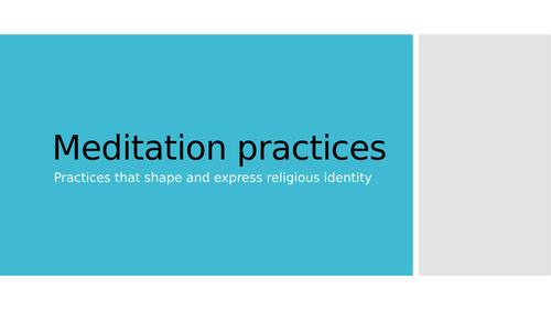 Meditation practices