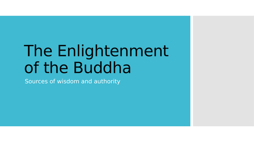 Enlightenment of the Buddha