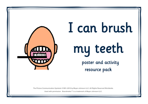 Visual Support for Brushing your Teeth