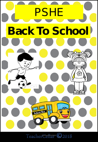 Back To school PSHE
