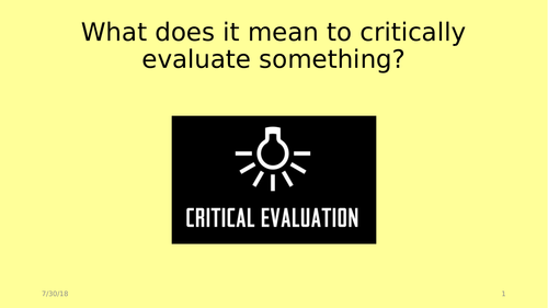 Ice Age Critical Evaluation