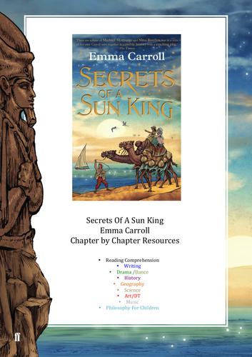 Secrets of a Sun King - Teaching Ideas