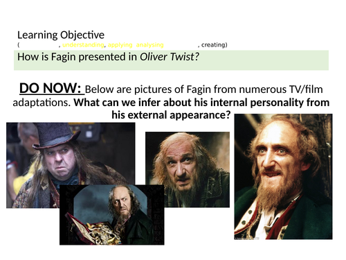 OLIVER  TWIST - Character of Fagin
