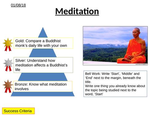 Life as a Buddhist - Meditation