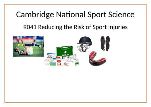 Cambridge National Sport Science R041 revision booklet (external assessment)