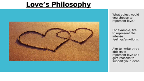 Love's Philosophy (Love and Relationships)