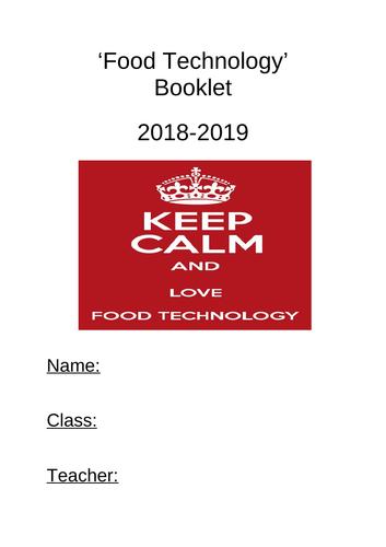 Basic food booklet